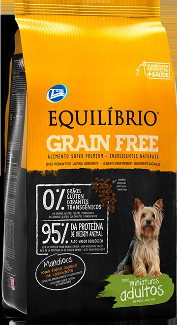 Equilíbrio Grain Free – Raças Miniaturas Adultos