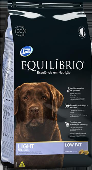 Cães  ADULTOS - LIGHT | Equilíbrio Total Alimentos