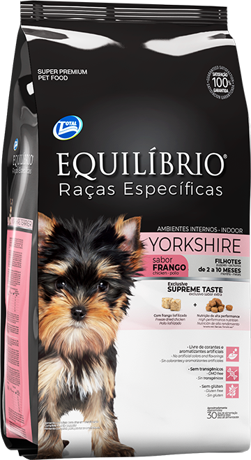 Yorkshire Terrier Filhote | Equilíbrio Total Alimentos