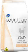 Equilíbrio Veterinary Gatos Obesity & Diabetic