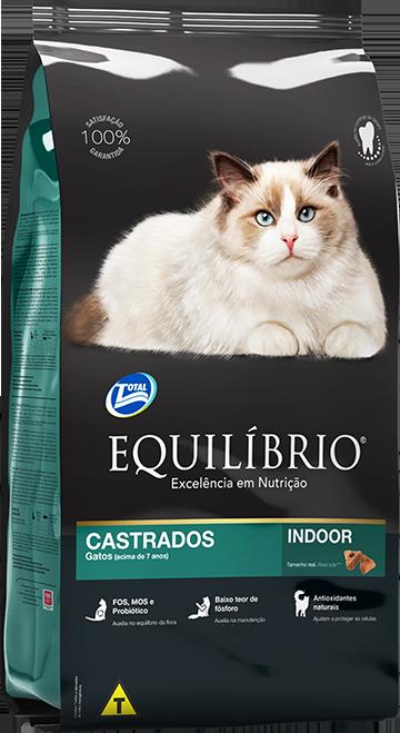 Gatos CASTRADOS MATURE | Equilíbrio Total Alimentos