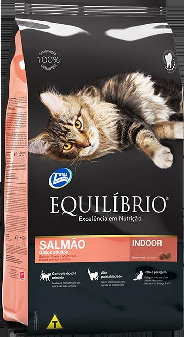 Gatos SALMÃO | Equilíbrio Total Alimentos