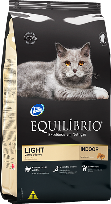Gatos LIGHT | Equilíbrio Total Alimentos