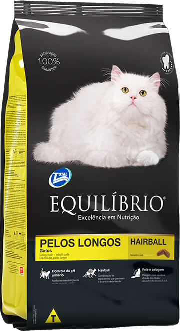 Gatos PELOS LONGOS | Equilíbrio Total Alimentos